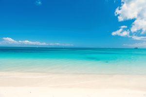 Barbuda Beach Caribbean Yacht Charter